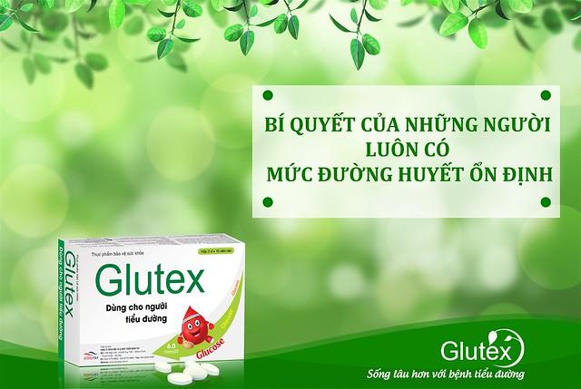 Glutex giải pháp giảm và ổn định đường huyết hiệu quả dành riêng cho tiểu đường tuýp 2